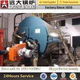 Wns 시리즈 1ton 2ton 3ton 4ton 5ton 천연 가스 LPG 액화천연가스에 의하여 발사되는 연관 증기 보일러