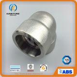 O aço inoxidável da alta qualidade que forja o interruptor do cotovelo de 90 graus forjou o cotovelo (KT0573)