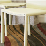 Elegante elegante silla de comedor blanco artificial en el restaurante (SP-LC218)