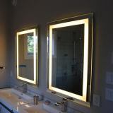 [فرملسّ] سفع رمليّ يضاء غرفة حمّام [بكليت] [لد] خفيفة جدار مرآة