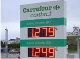 Precio del gas de 8 pulgadas signo (TT20F-3R-rojo)