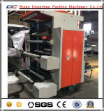 2 colores de plástico Bolsa de la compra del rodillo de la máquina de impresión flexográfica (DC-YT21000)