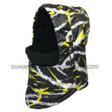 冬のカスタム防風の防水スキー用マスクの帽子の羊毛のスカーフのバラクラバ