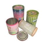 Lata de perfume puede caja de embalaje de cosméticos al por mayor con fábrica directamente