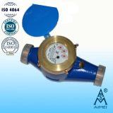 Multi тип двигателя сухой большой счетчик воды латуни размера