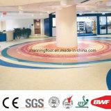 Rullo molle del pavimento del PVC di Portablefor della pavimentazione del vinile di colore rosa Mr1004 di colore solido per l'asilo 3.2mm multifunzionali con il certificato del Ce