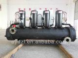 Refrigeratore di acqua industriale raffreddato ad acqua con la torre di raffreddamento ed il serbatoio