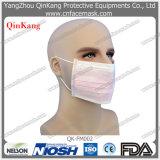 Лицевой щиток гермошлема Earloop медицинских оборудований устранимый Non сплетенный хирургический (QK-FM002)