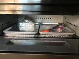 Commericalの二重デッキ4の皿のガスオーブンのパン屋装置