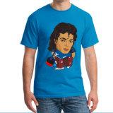 """La Chine les hommes"""" Coton T-shirts avec le transfert complet de couleurs des tirages"""