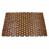 Natural Bamboo Block Tablemat para la mesa y el suelo