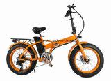 20 بوصة يطوي دراجة مصغّرة كهربائيّة سمينة/سمينة إطار العجلة دراجة/رمل شاطئ [إ] دراجة