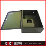 Коробки электропитания металла точности стальные