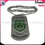 Fábrica de venta directa baratos de metal al por mayor Sublimación Dog Tags