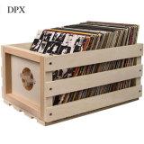 La cassa record di legno di memoria degli album di foto della cornice del blocco per grafici della foto sostiene a 75 album