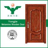 中国はメラミンマホガニーの外部の純木のドアを形成した