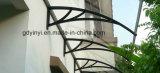 Тент тени крылечку укрытия дождя сени двери напольный сопротивляет UV защищает солнечний свет (YY1000-C)