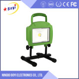 Diodo emissor de luz recarregável portátil Worklight do verde 10With35With45W