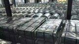 665 760 820, 840, 1050 tipo hojas acanaladas del material para techos del metal