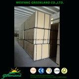 Una buena calidad de granos de madera de aglomerado laminado