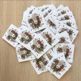 Impresión modificada para requisitos particulares de la tarjeta de publicidad del papel con el práctico de costa