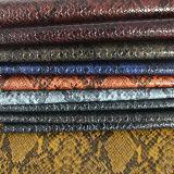 Cuoio di pattini di cuoio caldo delle borse del PVC dell'unità di elaborazione del reticolo del serpente di vendite