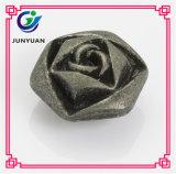 Bouton de fleur à l'aide de matériaux écologiques Jean Button