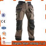 Pantalon fonctionnant de coton avec la garniture de genou