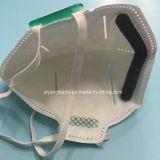 Ffp polvo respirador N95 con forma de plegar la máscara antipolvo