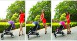 Aluminiumlegierung-materieller Baby-Spaziergänger Quicky Falz-Arbeitsweg-Systems-Baby-Spaziergänger
