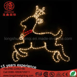 Iluminação da lâmpada de rena do Natal LED para decoração ao ar livre