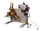 Decoiler 기계 (RGL-200)를 가진 직선기를 사용한 선을 누르십시오