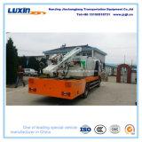 トラックによって取付けられるガードレールのポストの杭打ち機はのための鋼鉄ガードレールのポストをインストールする