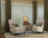 Windows de madeira cega cortinas Windows da forma