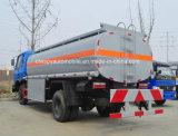 La alta calidad de Dongfeng 4X2 180HP reaprovisiona el carro del tanque de combustible 12000 L carro de petrolero del combustible