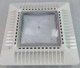 Nuevo diseño de la estación de gas al aire libre cubierta LED Luz actualización con la caja de transmisión