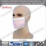 3 Falte-Breathable nichtgewebte gesundheitliche chirurgische Gesichtsmaske