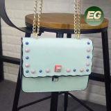 Sacchetto di spalla del progettista delle borse delle donne di modo con Sy8357 fissato Coroful