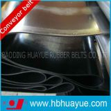 Larghezza di nylon 100-2200mm del nastro trasportatore del muro laterale della tela di canapa di Nn del nero di qualità del poliestere rassicurante del PE