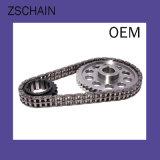 製造業者のステンレス鋼伝達鎖、不足分ピッチの精密単一のローラーの鎖