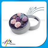 رف عادة ورق مقوّى زهرات مستديرة ورقيّة يعبر صندوق