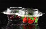 Одноразовые раунда фруктовый салат в блистерной упаковке .