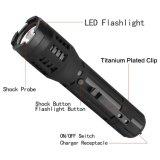Táctica LED linterna de la autodefensa de pistola eléctrica recargable para trabajo pesado