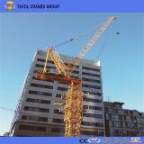Qtd4015 6ton Luffing Jib Tower Cranes Construção de equipamentos pesados