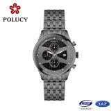 Form-Uhren Uhr-Hersteller-der kundenspezifischen Edelstahl-Männer