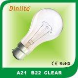 Lampadina incandescente A21 con l'alta qualità
