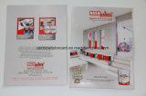 De Brochure van de Kaart van de Schaduw van de Kleur van de Verf van de muur voor Bouwmateriaal
