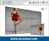 L'incastronatura stretta 42inch 55inch dimagrisce il video schermo d'impionbatura della parete dell'affissione a cristalli liquidi