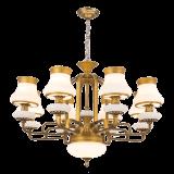 Nuova illuminazione del lampadario a bracci del ferro di disegno 2017 con il marmo (SL2270-6)