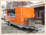 Alimentos de preparación rápida Van del carro móvil del restaurante de la alta calidad Ys-Fv580 para la venta